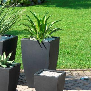 Vaso in resina QUADRO VENETO H65 - 40x40 - TERAPLAST