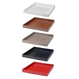 Sottovaso quadrato per Schio 40x40 – TERAPLAST