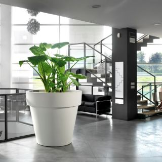 Vaso fioriera in resina STANDARD ONE Ø100 - TERAPLAST
