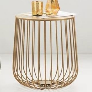 Tavolino in Metallo GOLD Ø38 H41