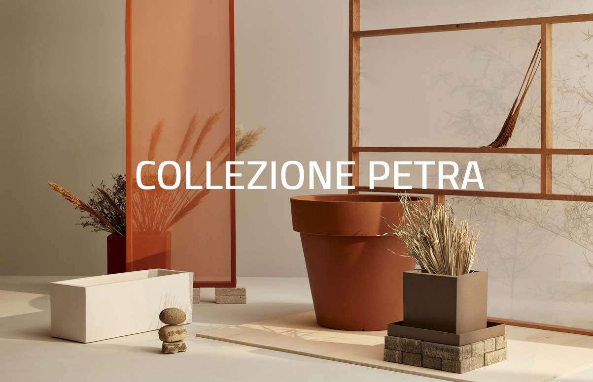 Collezione Petra vasi ecologici Teraplast