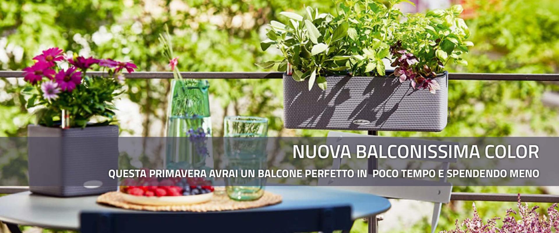 Nuova fioriera Balconissima Color Lechuza