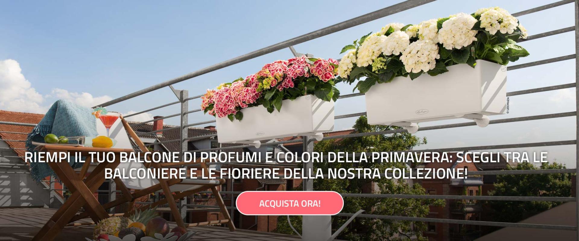 Collezione fioriere e balconiere