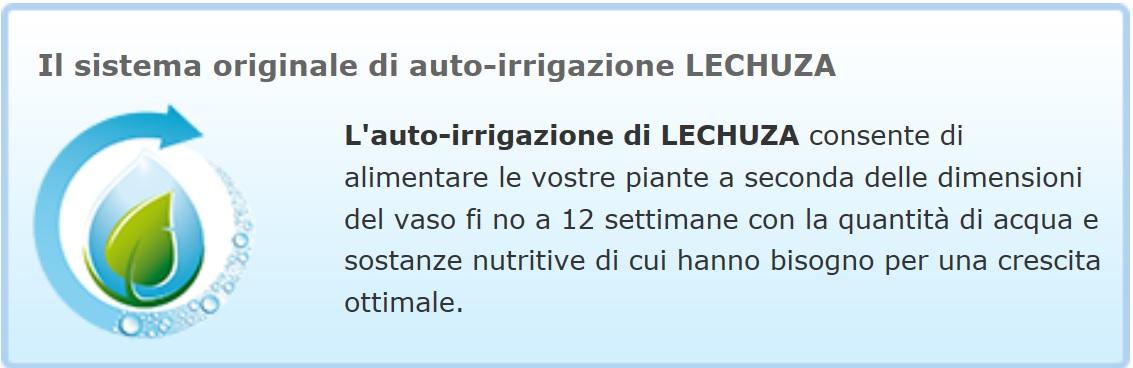 Sistema di auto irrigazione Lechuza